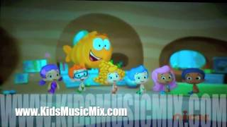 Bubble Guppies Line Up
