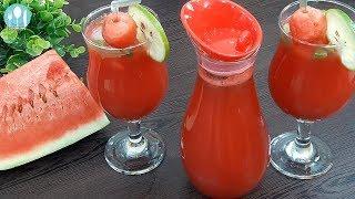 তরমুজ লেবুর শরবৎ। Watermelon Lemonade Bangla Recipe by Cooking Channel BD.