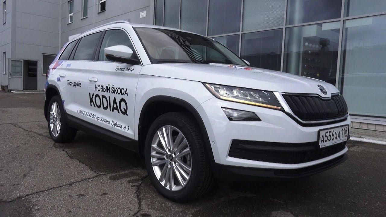 2017 koda kodiaq start up engine and in depth tour youtube