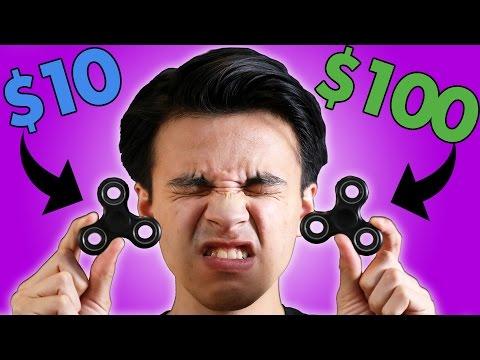 $10 vs $100 Fidget Spinner!