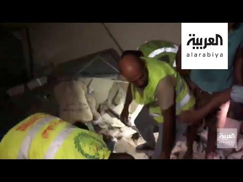 فيديو مؤلم لفرق الدفاع المدني تحاول انتشال جثث الضحايا من موقع انفجار بيروت  - نشر قبل 9 ساعة