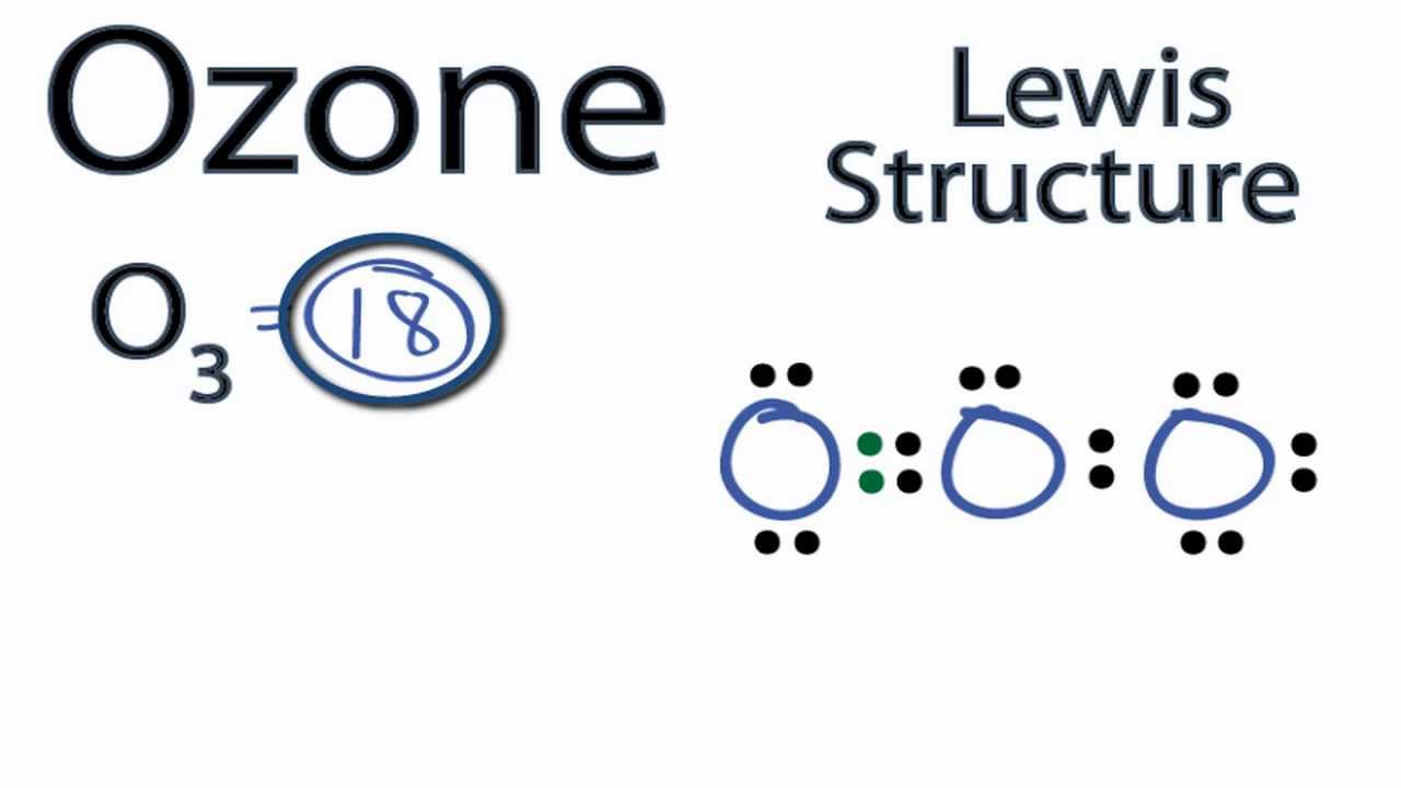 Ozone Lewis Structure: How to Draw the Lewis Structure for Ozone ...