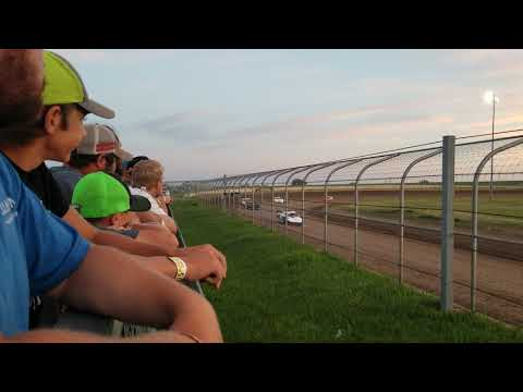 7-6-19 Junction Motor Speedway Late Model Heat Cory Dumpert