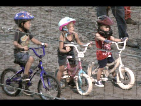 1st annual kids bike races at Marysville Raceway