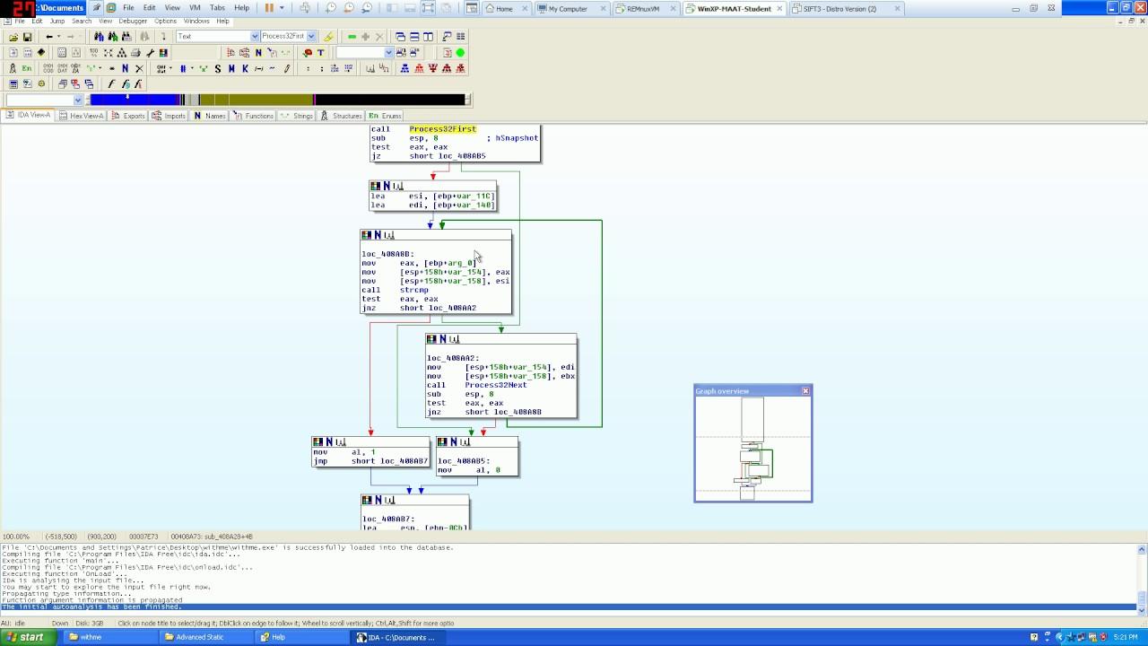 Advanced Static Malware Analysis Part 1 (IDA PRO)