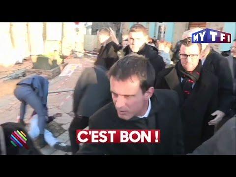 Manuel Valls reçoit une gifle pendant un déplacement à Lamballe - Quotidien du 16 Janvier