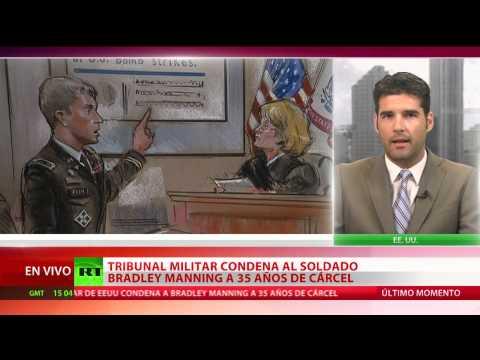 Bradley Manning condenado a 35 años de cárcel por el caso WikiLeaks