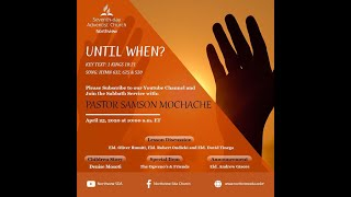 Northview SDA church Worship 25th April 2020