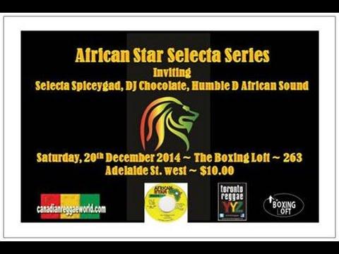 African Star Joseph Hill dubplate December 2014