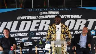 DEONTAY WILDER -'I BEAT STIVERNE TO AN INCH OF HIS LIFE  I TOLD HIM THATS WHY I WONT FIGHT HIM AGAIN
