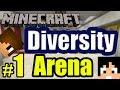 Tackle⁴⁸²⁶ Minecraft Custom Map - Diversity #1 (Arena)