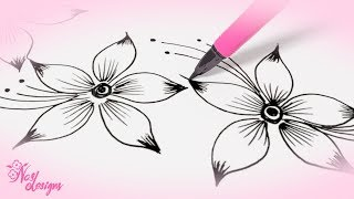 Nas Designs Tutorial 01 : Floral Design