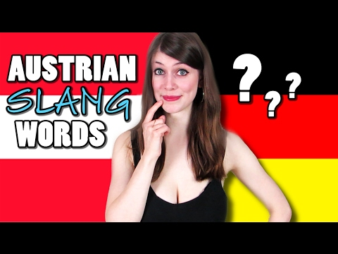 Can GERMANS Guess AUSTRIAN SLANG WORDS?