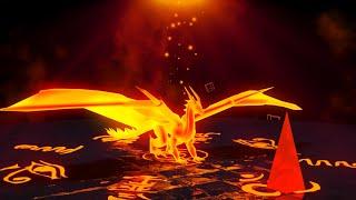 Золотой Дракон изобилия Богатство и власть Сжечь отрицательную энергию Фен-шуй 888 Гц