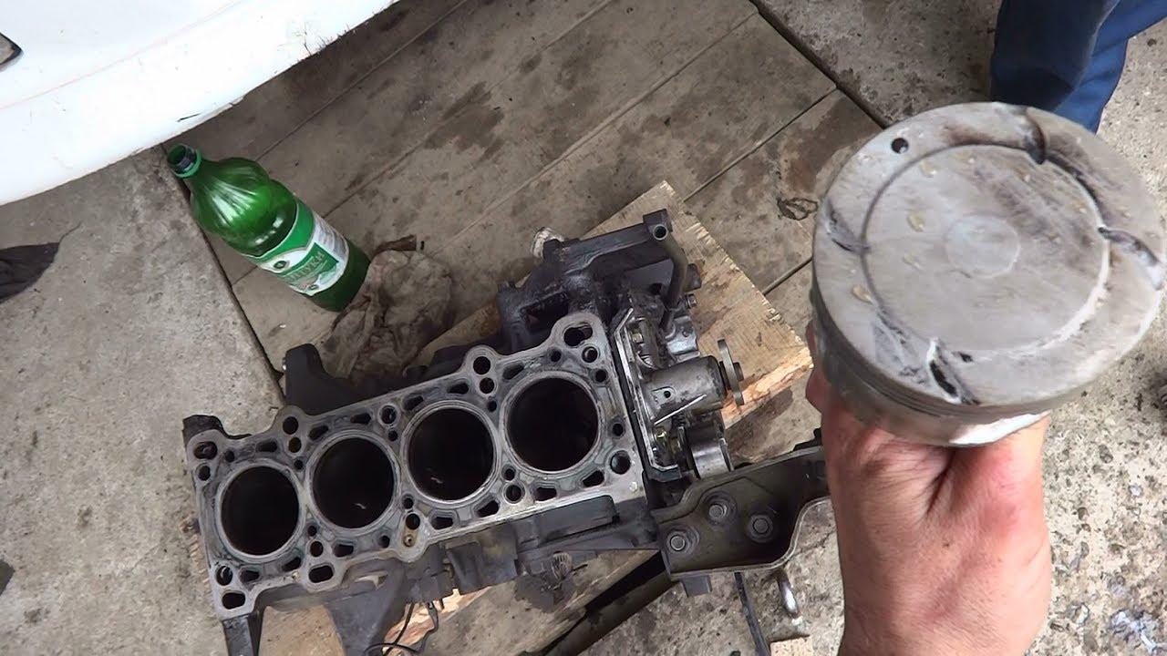 Капитальный ремонт двигателя В3 на Mazda Demio