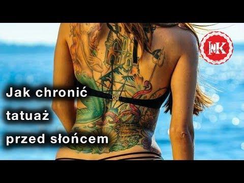 Jak Chronić Tatuaż Przed Słońcem Easy Tattoo Projekt Ink