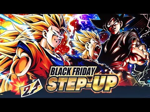GOKU BLACK FRIDAY! SSJ3 Goku & Majin Vegeta Dragon Ball DB Legends SUMMONS!