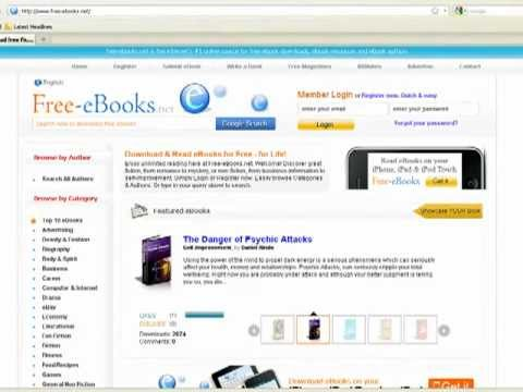 Free Ebooks Net How To Download Ebooks Youtube