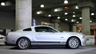 2012 Shelby GTS Mustang at the 2011 New York Auto Show