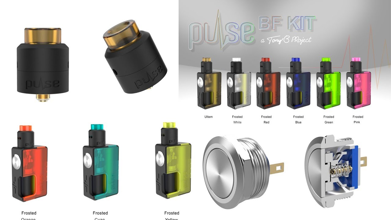 Vandy Vape Pulse BF Kit - Guess how many colors we're gonna have