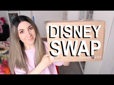Disneyland Gift Swap w Sarah the Feret