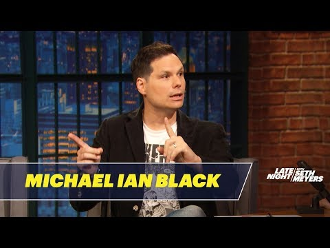 Michael Ian Black Talks About The State - YouTube