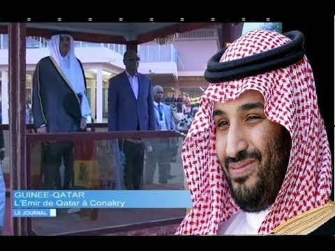JT RTG DU 21 12 2017  L'Émir du Qatar en Guinée, Alpha Condé prend ses distances avec les Saoudiens
