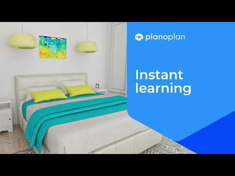 Planoplan 2.0 Instant Learning | Online 3D Interior Design Software