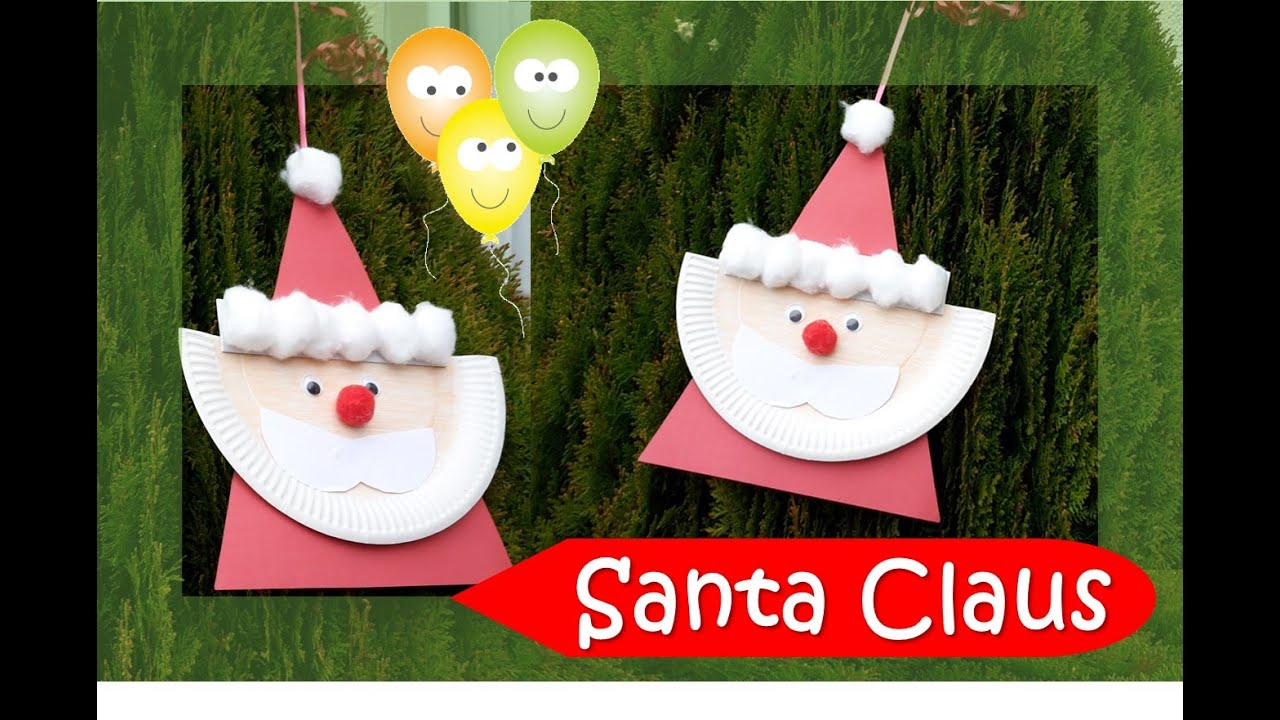 & Santa Claus | Paper Plate Series ?? - YouTube