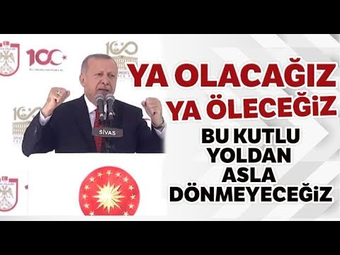 Cumhurbaşkanı Erdoğan, Sivas'ta Birlik ve Beraberlik Mesajları Verdi