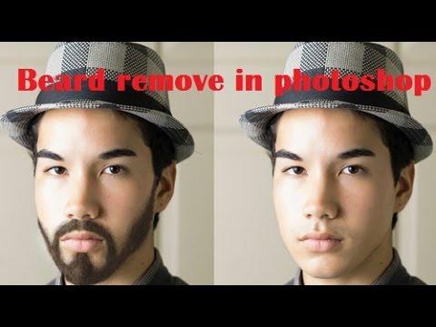 How to Remove Beard in Photoshop | Make Beard | Beard Styles | Photoshop  Tutorial In Urdu/Hindi
