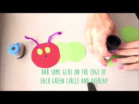 Make your own Very Hungry Caterpillar