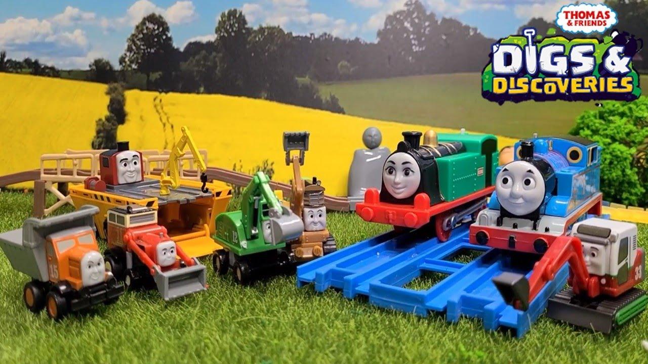 (NO.197) Thomas and Friends Capsule plarail toy きかんしゃトーマス カプセルプラレール おおきな水陸両用車 ステファノ登場編 토마스와 친구들 캡슐토이