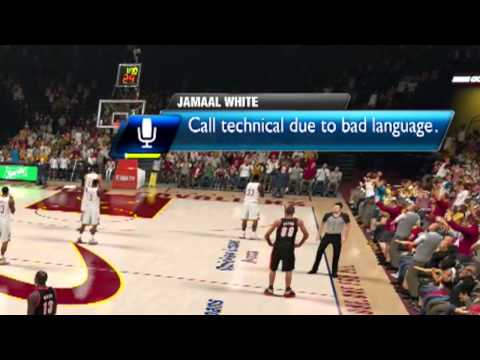 TECHNICAL FOUL?!?...And this is why I hate the Kinect! NBA 2k14