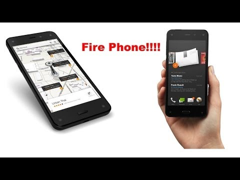 Introducing the Amazon Fire Phone!!!