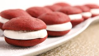 Red Velvet Whoopie Pies with Marshmallow Filling | Episode 1033