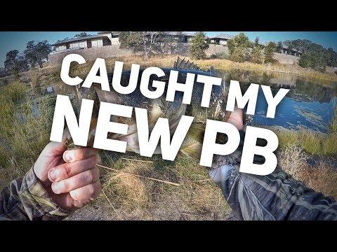Caught My New PB! - Bass Fishing Folsom, CA