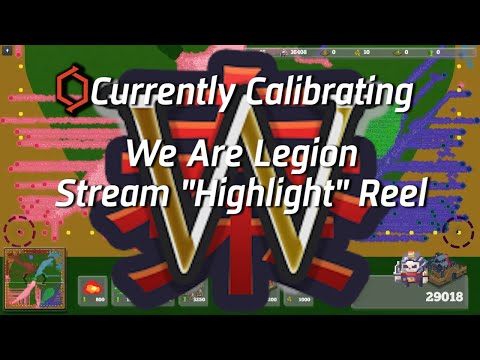 "We Are Legion - Live Stream with Pwnee ""Highlight"" Reel"