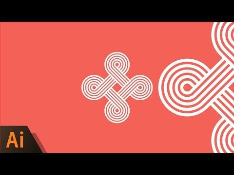 Illustrator Beginner Tutorial: Logo Loop Design