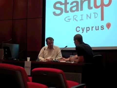 Angelos Manglis (Atlantic Consulting) at Startup Grind Cyprus