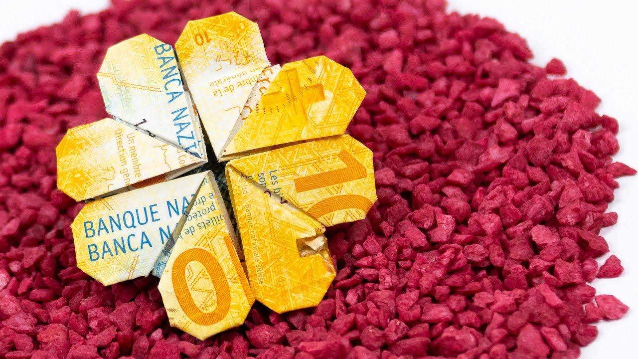 Kleeblatt Aus Geld
