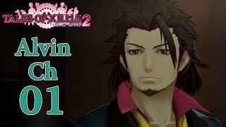 Alvin Chapter 1: Alvin the Salesman 【Tales of Xillia 2 | Game Movie】