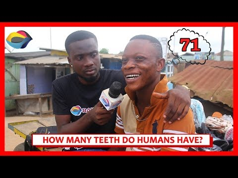 How Many TEETH Do Humans Have? | Street Quiz | Funny African Videos | Funny Videos | African Comedy thumbnail