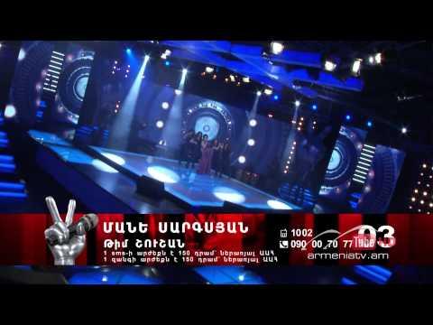Mane Sargsyan,Deja vu - The Voice Of Armenia - Live Show - Season 2