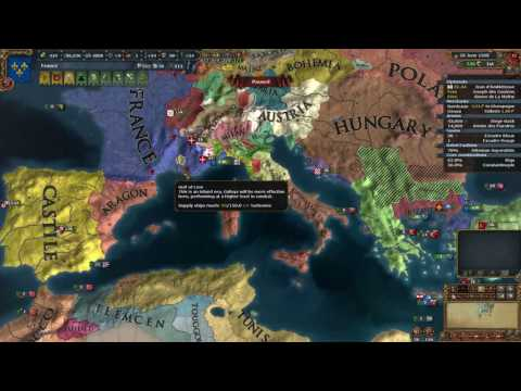 EU4 France into Rome - 1505-1510 Peace and post war economy
