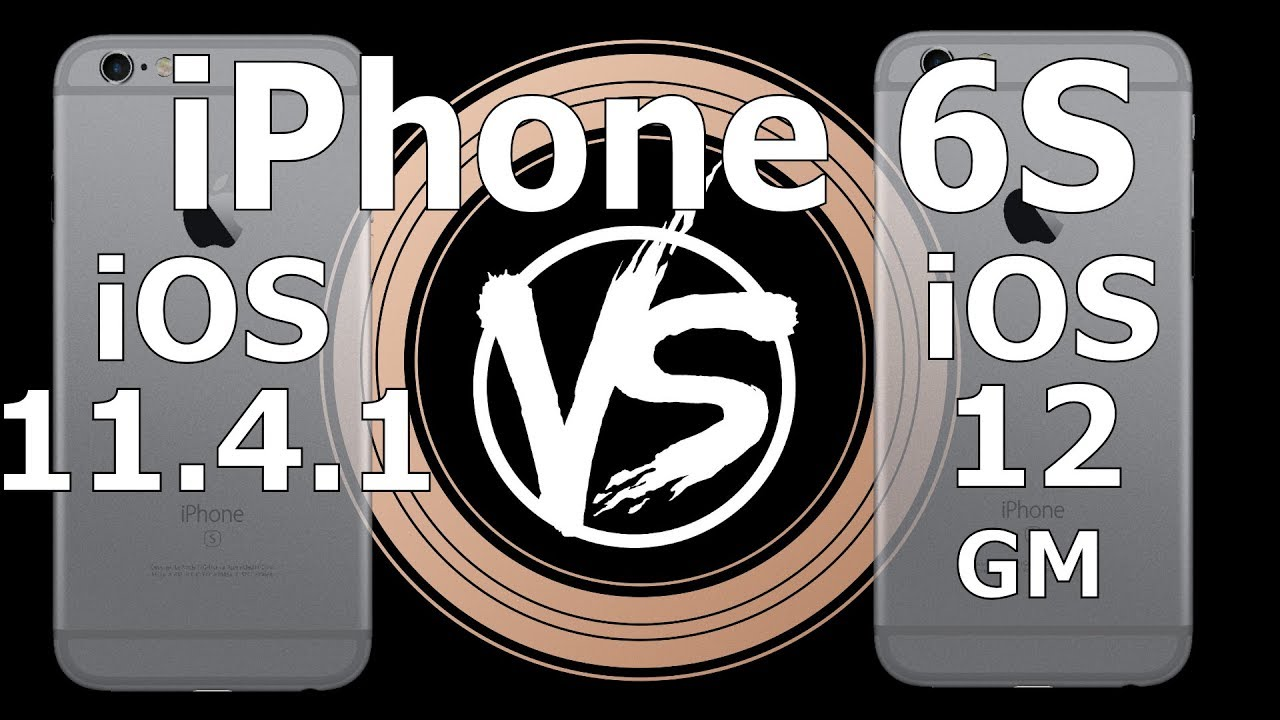 Работу новой iOS 12 сравнили со старой версией. Узнайте, какая из них быстрее (видео)