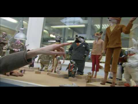 FANTASTIC MR. FOX - In the puppet shop with Wes & Bill