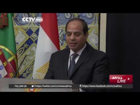 Egyptian President Sisi highlights close relationship with Portugal