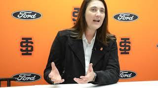 Idaho State Athletic Director Pauline Thiros on basketball coach Bill Evans