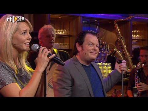 Chantal Janzen en Martijn Fischer–Hazes Medley - RTL LATE NIGHT